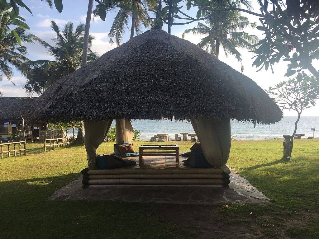 "Photo of Coco Beach  by <a href=""/members/profile/adventurous_herbivore"">adventurous_herbivore</a> <br/>Chill in the comfy hut and enjoy the great veg food! <br/> August 19, 2017  - <a href='/contact/abuse/image/53615/294313'>Report</a>"