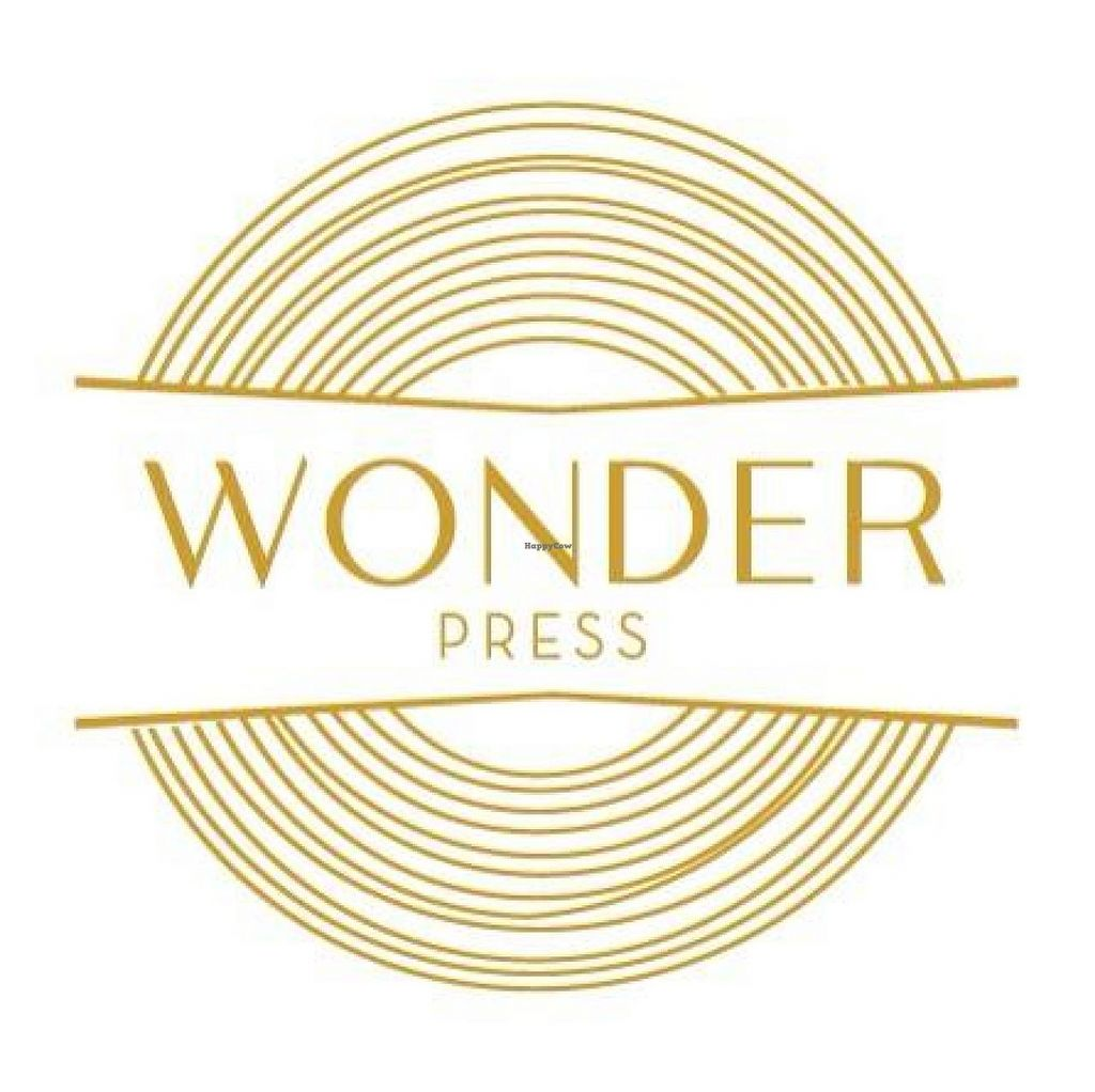 """Photo of Wonder Press Juice Bar - Pop-up  by <a href=""""/members/profile/community"""">community</a> <br/>Wonder Press logo  <br/> December 11, 2014  - <a href='/contact/abuse/image/53618/87782'>Report</a>"""