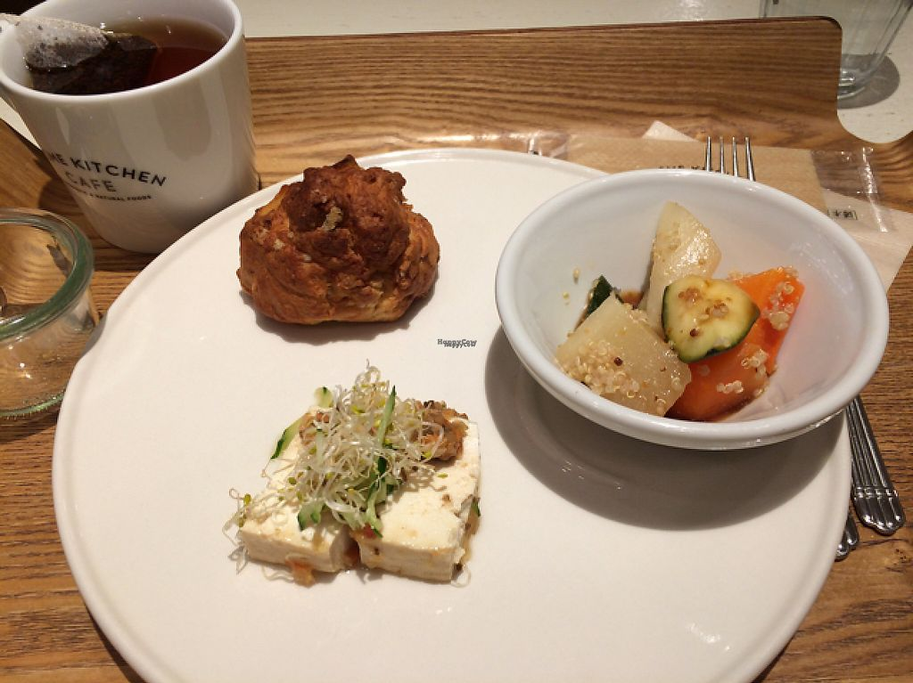 "Photo of Cosme Kitchen Cafe  by <a href=""/members/profile/Jensoper"">Jensoper</a> <br/>tiny portions 700 yen  <br/> April 22, 2017  - <a href='/contact/abuse/image/53627/250775'>Report</a>"