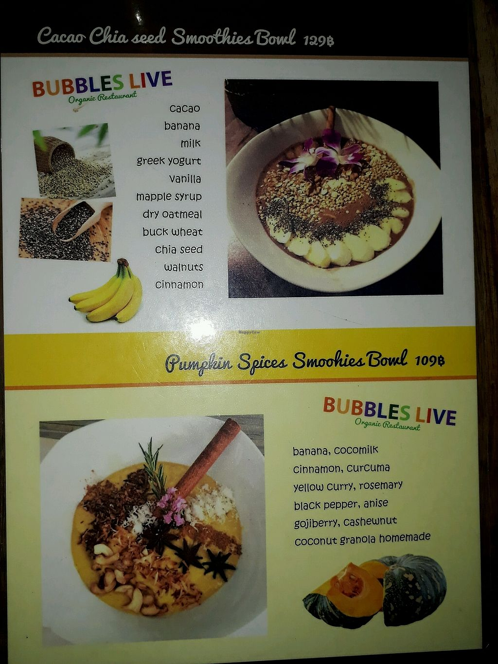 """Photo of Bubbles Live  by <a href=""""/members/profile/LilacHippy"""">LilacHippy</a> <br/>Smoothie Bowls <br/> February 2, 2018  - <a href='/contact/abuse/image/53652/353845'>Report</a>"""