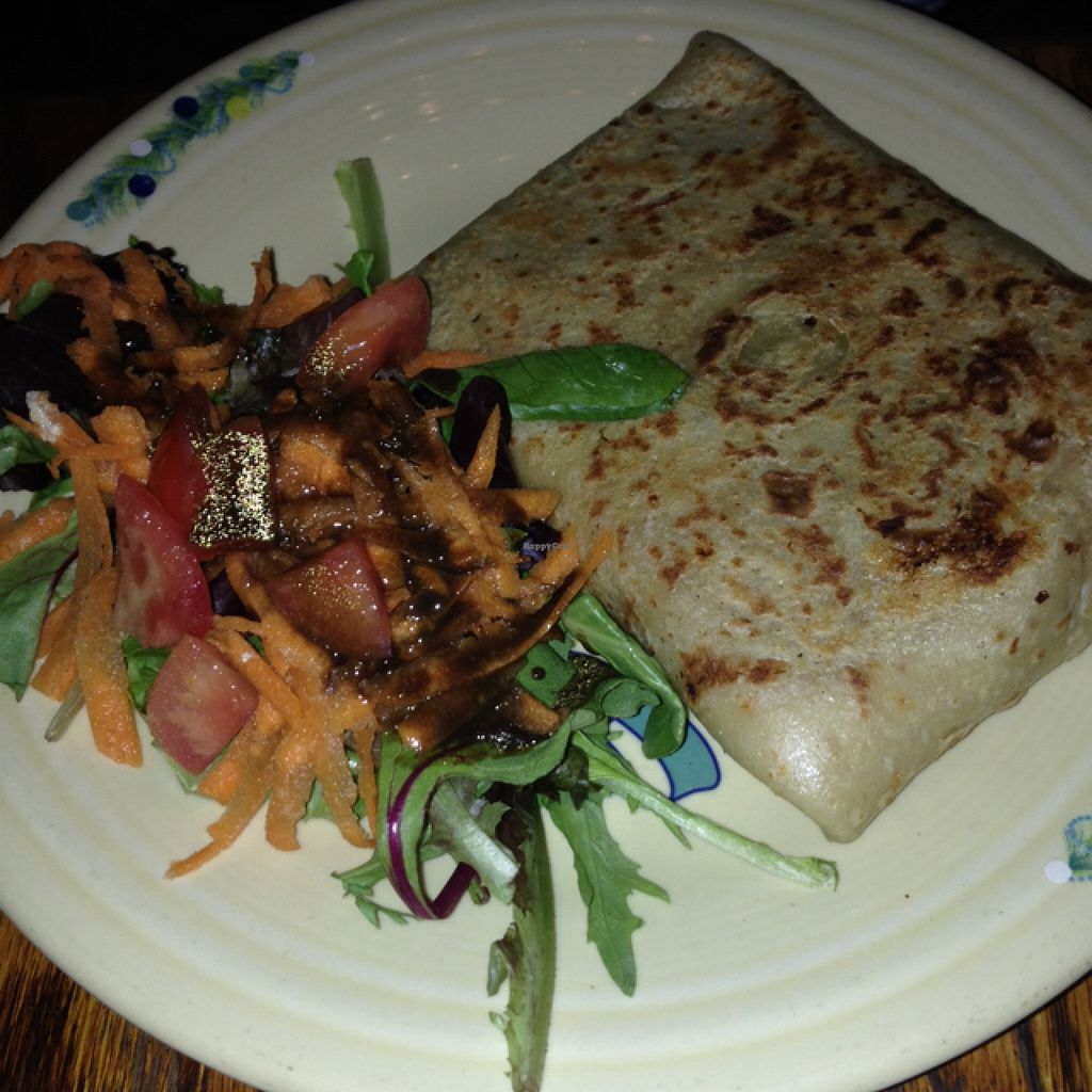 """Photo of Atlas Cafe and Bakery  by <a href=""""/members/profile/slo0go"""">slo0go</a> <br/>Moroccan chicken crepe <br/> November 3, 2015  - <a href='/contact/abuse/image/5365/123679'>Report</a>"""