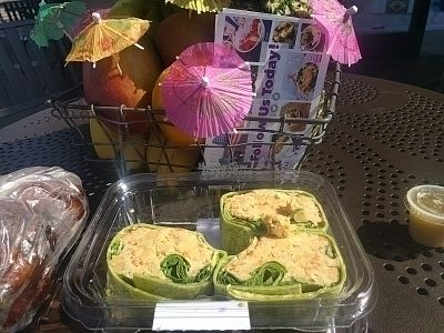 """Photo of Acai Nation  by <a href=""""/members/profile/MatthewVBogusz"""">MatthewVBogusz</a> <br/>I bought a wrap because they ran out of blueberries for the acai bowl <br/> October 13, 2016  - <a href='/contact/abuse/image/53663/181896'>Report</a>"""