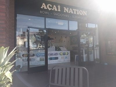 """Photo of Acai Nation  by <a href=""""/members/profile/MatthewVBogusz"""">MatthewVBogusz</a> <br/>sunny storefront <br/> October 13, 2016  - <a href='/contact/abuse/image/53663/181897'>Report</a>"""