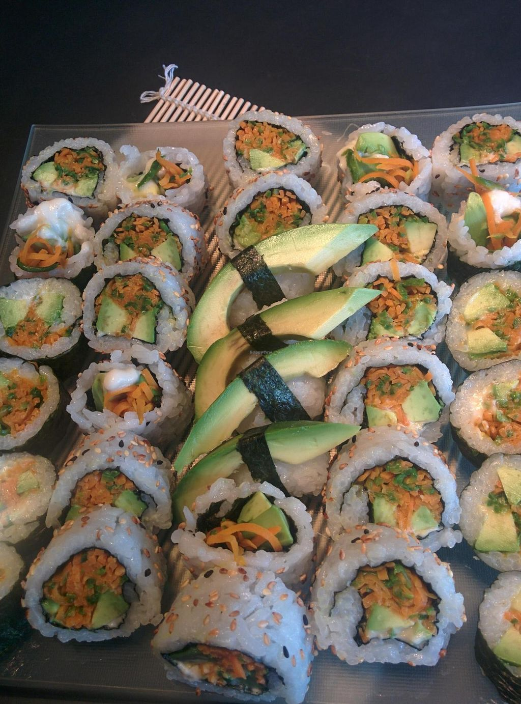 "Photo of CLOSED: Sushi Board  by <a href=""/members/profile/VeganSoapDude"">VeganSoapDude</a> <br/>Vegan Sushi! <br/> December 10, 2014  - <a href='/contact/abuse/image/53676/87606'>Report</a>"