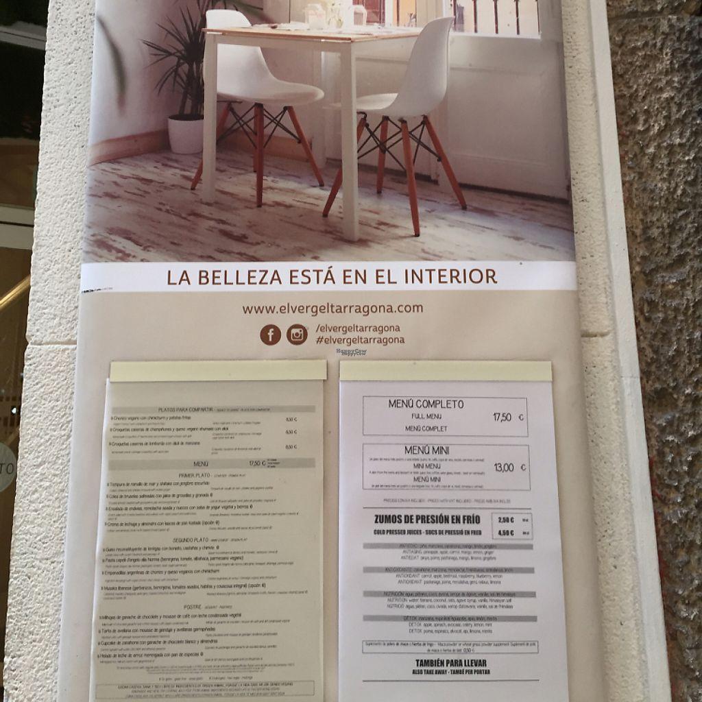 "Photo of El Vergel Veggie Restaurant  by <a href=""/members/profile/DonnaC"">DonnaC</a> <br/>menu <br/> November 20, 2016  - <a href='/contact/abuse/image/53682/192760'>Report</a>"