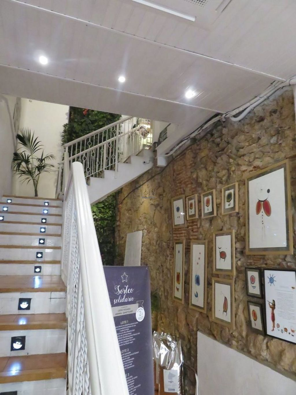 """Photo of El Vergel Veggie Restaurant  by <a href=""""/members/profile/Pinelele"""">Pinelele</a> <br/>stairway up to the restaurant <br/> May 22, 2017  - <a href='/contact/abuse/image/53682/261545'>Report</a>"""