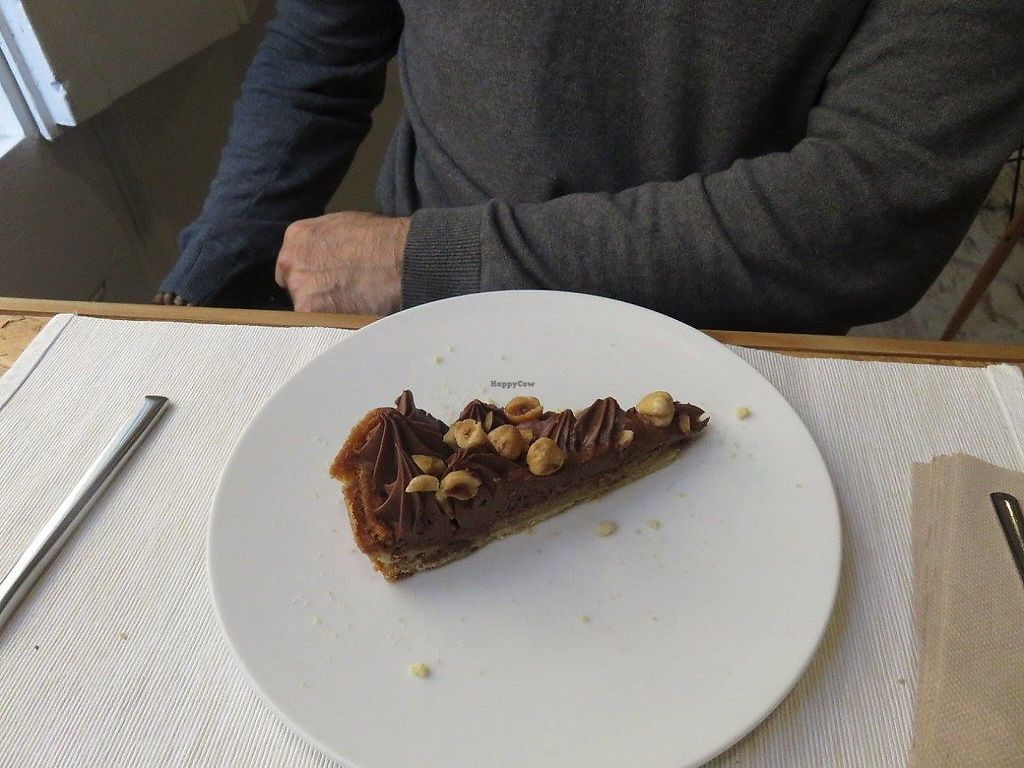 """Photo of El Vergel Veggie Restaurant  by <a href=""""/members/profile/Pinelele"""">Pinelele</a> <br/>Chocolate, nut cake <br/> May 22, 2017  - <a href='/contact/abuse/image/53682/261552'>Report</a>"""