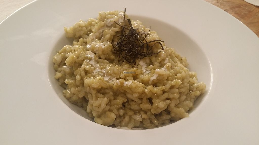 """Photo of El Vergel Veggie Restaurant  by <a href=""""/members/profile/mireia90"""">mireia90</a> <br/>Seaweed rice. This one was really nice, warm and felt easy to digest. The seaweed flavour was just perfect <br/> November 4, 2017  - <a href='/contact/abuse/image/53682/321703'>Report</a>"""