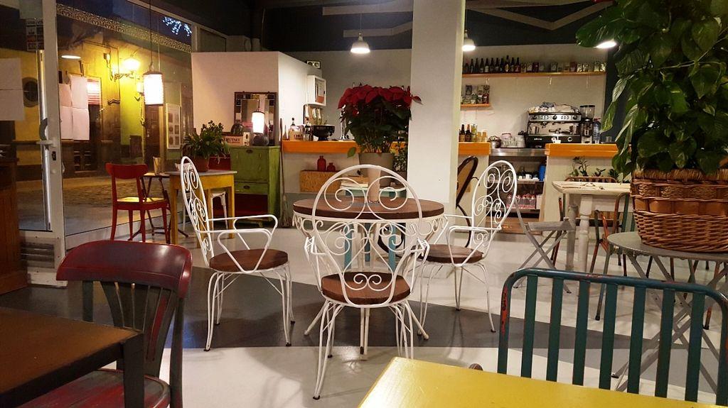 "Photo of La Hierba Luisa Cocina de la Huerta  by <a href=""/members/profile/Eric%20Rem"">Eric Rem</a> <br/>Nice decorations, but terrible acoustics <br/> January 3, 2016  - <a href='/contact/abuse/image/53689/130886'>Report</a>"