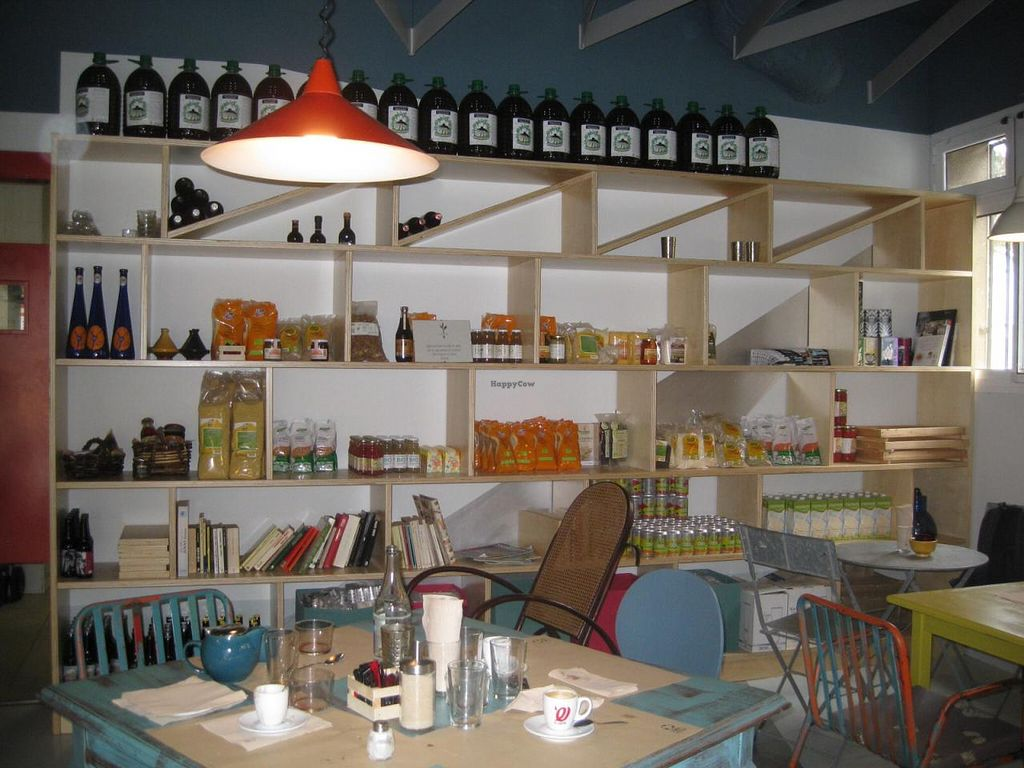 """Photo of La Hierba Luisa Cocina de la Huerta  by <a href=""""/members/profile/Greysocialist"""">Greysocialist</a> <br/>Well-stocked shelves create a good atmosphere  <br/> February 16, 2015  - <a href='/contact/abuse/image/53689/93257'>Report</a>"""