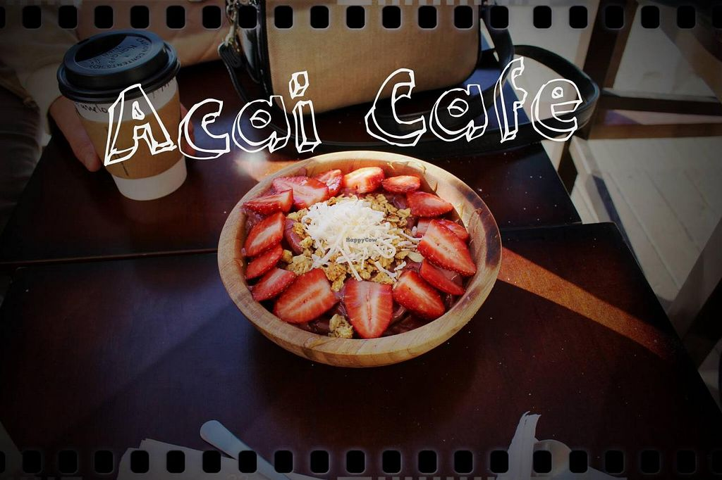 """Photo of Acai Cafe TJ  by <a href=""""/members/profile/illbethewind"""">illbethewind</a> <br/>Organic Acai Bowl  <br/> December 10, 2014  - <a href='/contact/abuse/image/53705/87665'>Report</a>"""