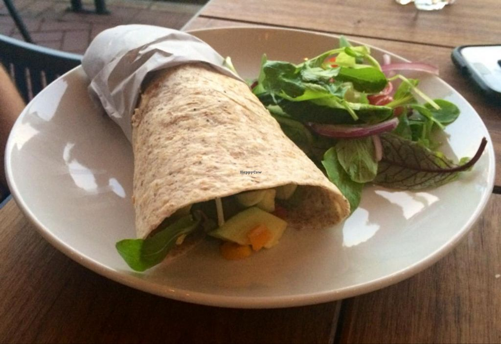 "Photo of Doppio Zero  by <a href=""/members/profile/Veganoms"">Veganoms</a> <br/>Falafel Wrap <br/> December 12, 2014  - <a href='/contact/abuse/image/53711/87807'>Report</a>"