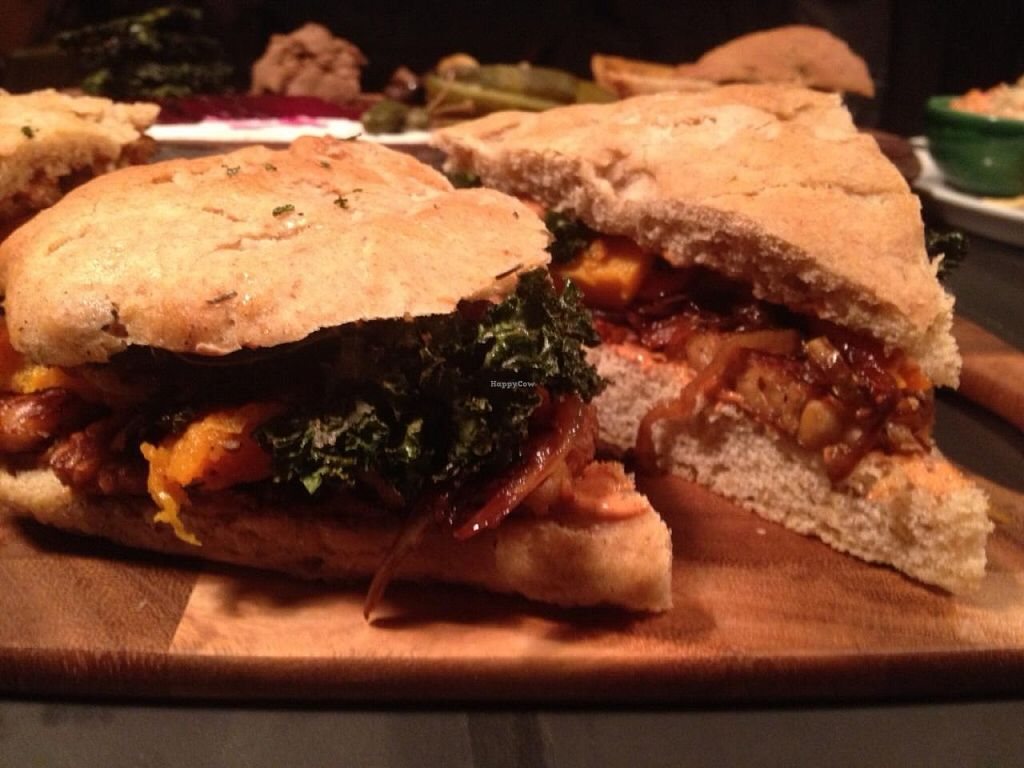 """Photo of Democracy  by <a href=""""/members/profile/ThatHippieMom"""">ThatHippieMom</a> <br/>Tempting Tempeh Sandwhich  <br/> December 16, 2014  - <a href='/contact/abuse/image/53733/88120'>Report</a>"""
