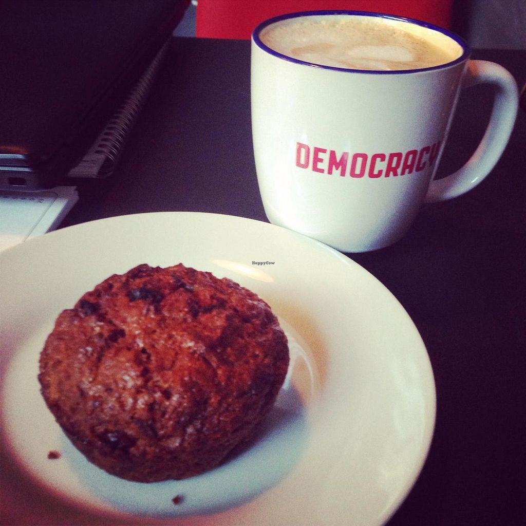 """Photo of Democracy  by <a href=""""/members/profile/ThatHippieMom"""">ThatHippieMom</a> <br/>Morning glory muffin <br/> December 16, 2014  - <a href='/contact/abuse/image/53733/88123'>Report</a>"""