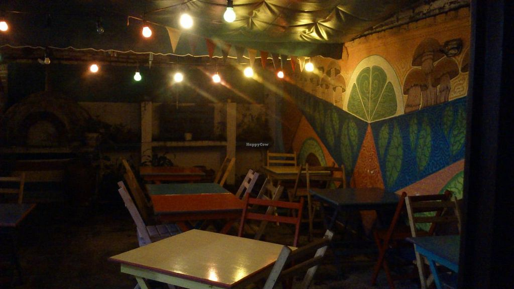 """Photo of Vaikuntha Resto  by <a href=""""/members/profile/citizenInsane"""">citizenInsane</a> <br/>little terrasse at the back, short a bit early in the evening! <br/> March 16, 2015  - <a href='/contact/abuse/image/53735/95903'>Report</a>"""