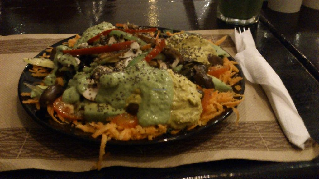 """Photo of Vaikuntha Resto  by <a href=""""/members/profile/citizenInsane"""">citizenInsane</a> <br/>my (equilibrio) salad <br/> March 17, 2015  - <a href='/contact/abuse/image/53735/96021'>Report</a>"""