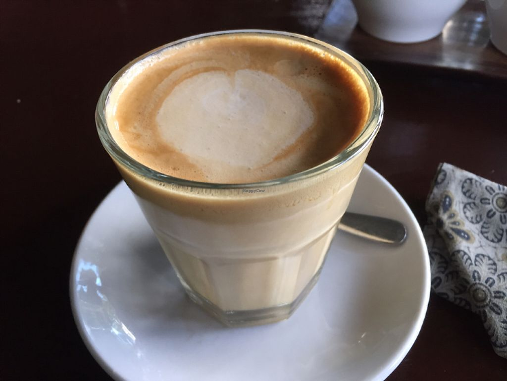 """Photo of Elephant Cafe  by <a href=""""/members/profile/SusanRoberts"""">SusanRoberts</a> <br/>coconut cappuccino  <br/> May 22, 2017  - <a href='/contact/abuse/image/53736/261289'>Report</a>"""