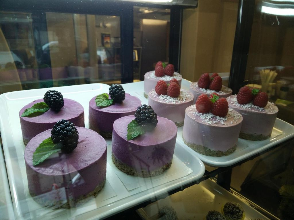 """Photo of CLOSED: Venjoy  by <a href=""""/members/profile/Venjoy"""">Venjoy</a> <br/>Raw vegan berry creme cakes <br/> January 13, 2015  - <a href='/contact/abuse/image/53745/90329'>Report</a>"""