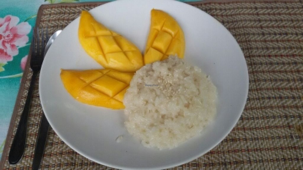"""Photo of O2  by <a href=""""/members/profile/nakamura"""">nakamura</a> <br/>sticky rice with mango <br/> March 17, 2016  - <a href='/contact/abuse/image/53762/140354'>Report</a>"""