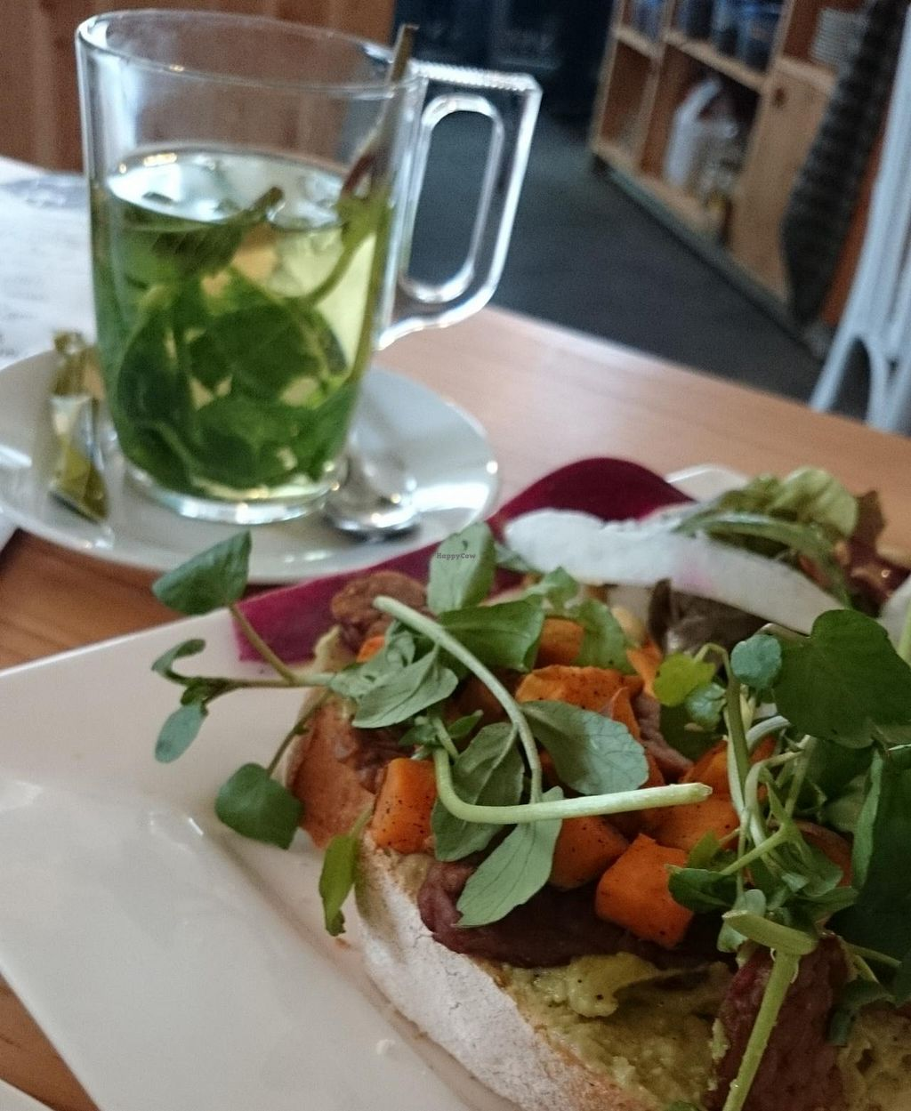 """Photo of GYS  by <a href=""""/members/profile/v_mdj"""">v_mdj</a> <br/>Sandwich with tempeh and avocado <br/> February 6, 2015  - <a href='/contact/abuse/image/53767/92362'>Report</a>"""