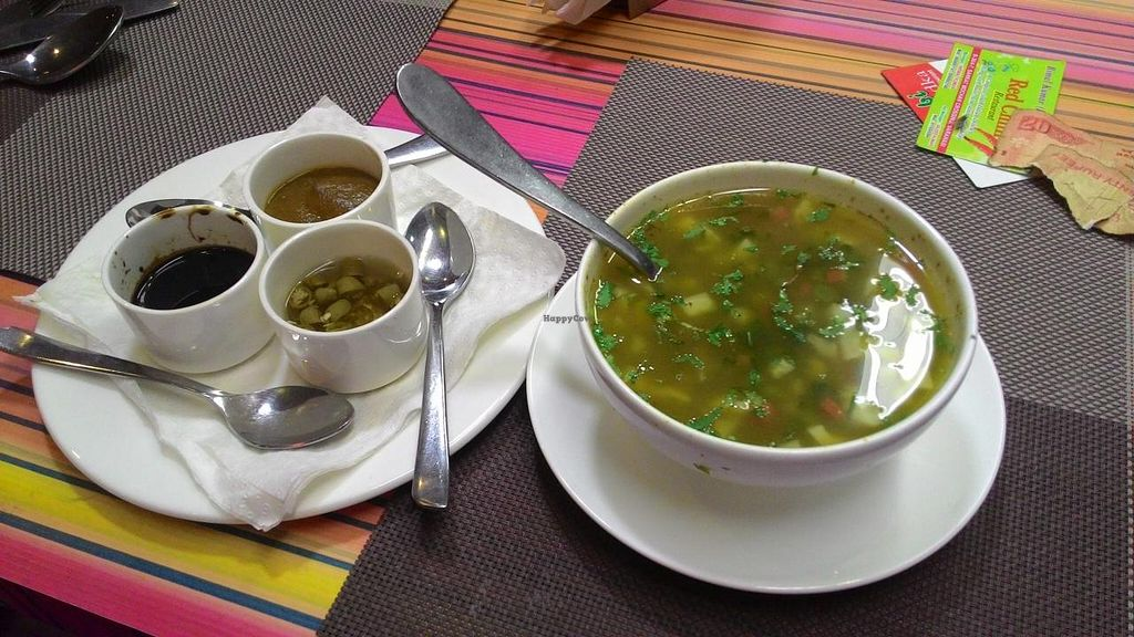 "Photo of Cuisine Kashi  by <a href=""/members/profile/RenkeFlexanist"">RenkeFlexanist</a> <br/>Very tasty lemon and coriander soup <br/> December 12, 2014  - <a href='/contact/abuse/image/53769/87838'>Report</a>"