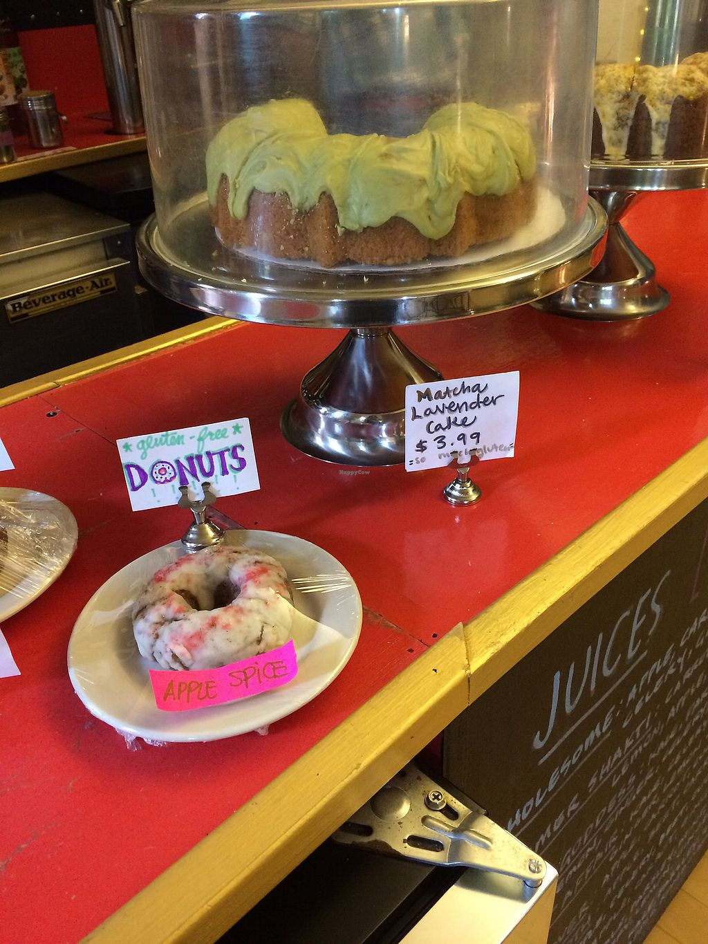"""Photo of Good Karma Cafe  by <a href=""""/members/profile/KatieBush"""">KatieBush</a> <br/>fresh baked goods up front <br/> October 6, 2017  - <a href='/contact/abuse/image/53789/312468'>Report</a>"""