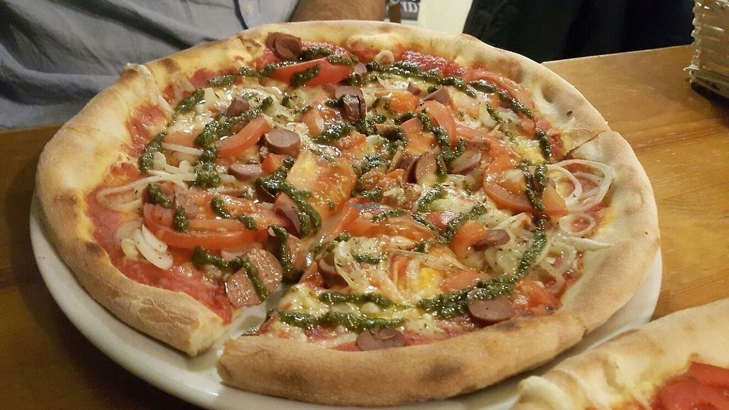"Photo of CLOSED: Vegan Pizza  by <a href=""/members/profile/einavlo"">einavlo</a> <br/>Tomatos and pesto for him  <br/> December 14, 2016  - <a href='/contact/abuse/image/53794/201094'>Report</a>"