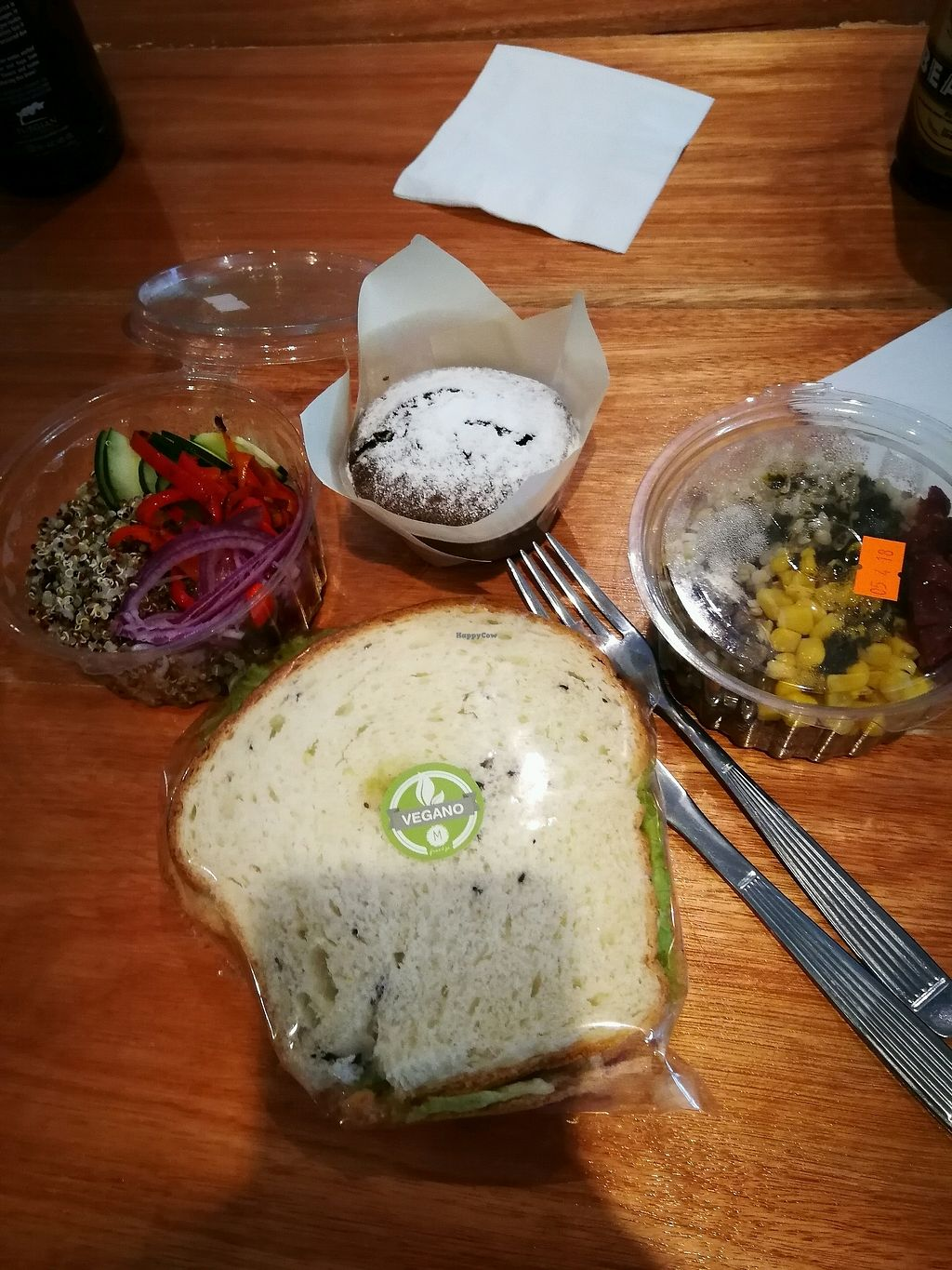 """Photo of Marcopolo Freelife  by <a href=""""/members/profile/Lucylu"""">Lucylu</a> <br/>vegan lunch  <br/> April 15, 2018  - <a href='/contact/abuse/image/53803/386392'>Report</a>"""