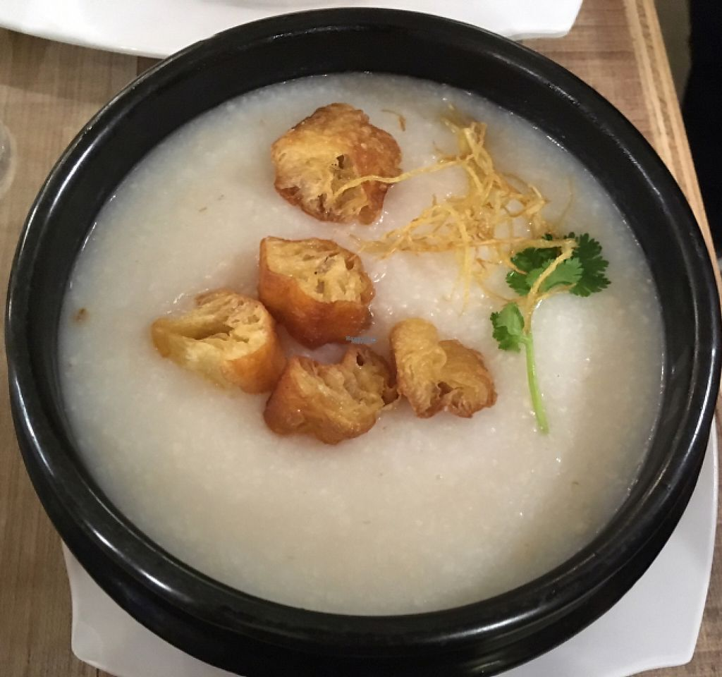 "Photo of Nature Cafe - The Aperia  by <a href=""/members/profile/Scarlet-Scarlet"">Scarlet-Scarlet</a> <br/>Albalone chicken porridge <br/> March 11, 2017  - <a href='/contact/abuse/image/53815/235204'>Report</a>"