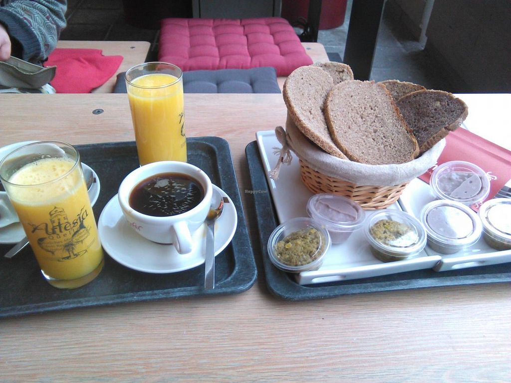 "Photo of Siegersdorfer Brot-Cafe  by <a href=""/members/profile/Amy1274"">Amy1274</a> <br/>2 small breakfasts with coffees <br/> December 23, 2014  - <a href='/contact/abuse/image/53819/88528'>Report</a>"