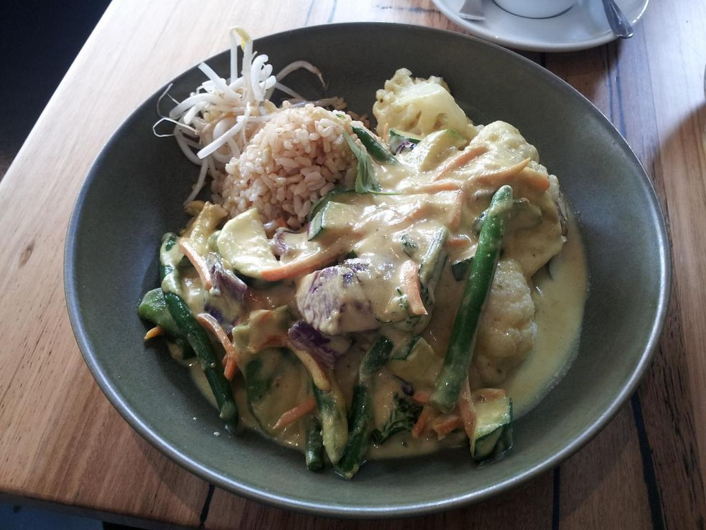 "Photo of Vege Rama - West End  by <a href=""/members/profile/necius"">necius</a> <br/>Thai curry at Vege Rama - West End <br/> May 26, 2015  - <a href='/contact/abuse/image/53850/103463'>Report</a>"