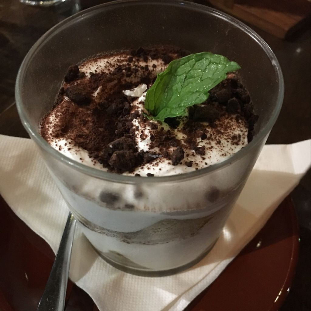 "Photo of Vege Rama - West End  by <a href=""/members/profile/2lentilforyou"">2lentilforyou</a> <br/>vegan tiramisu  <br/> February 11, 2017  - <a href='/contact/abuse/image/53850/225259'>Report</a>"