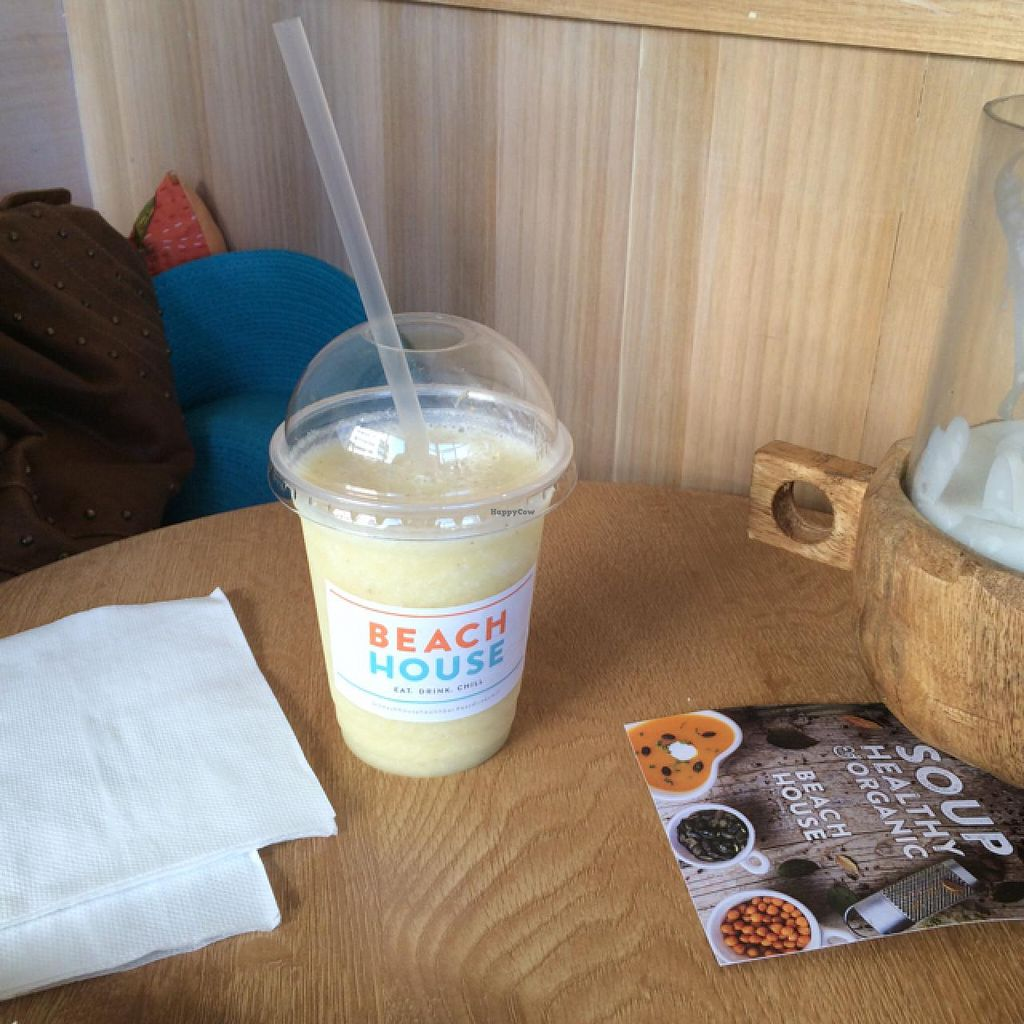 """Photo of CLOSED: Beach House Health Bar  by <a href=""""/members/profile/Adro84"""">Adro84</a> <br/>Piña Colada w/ Coconut milk <br/> July 25, 2015  - <a href='/contact/abuse/image/53855/110994'>Report</a>"""