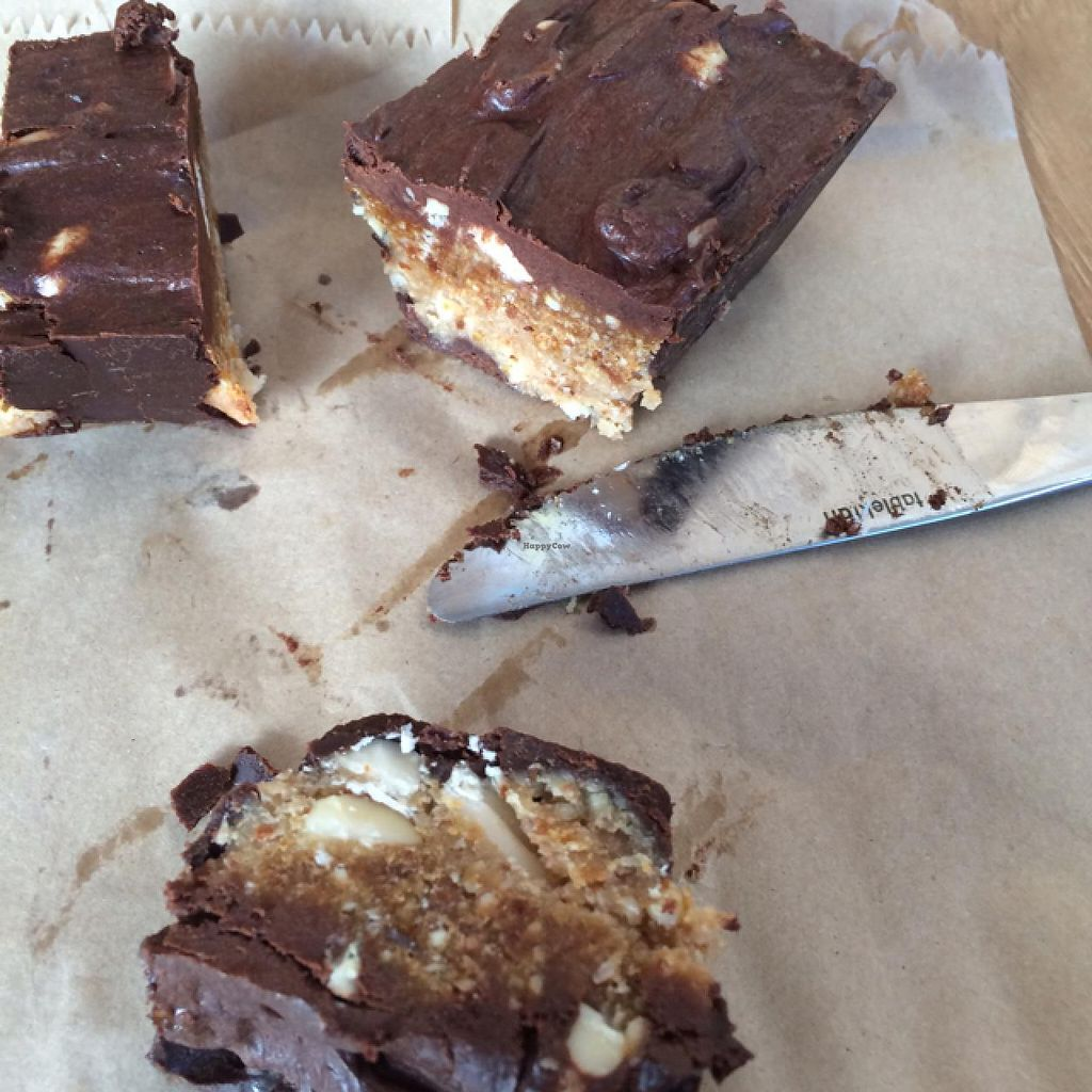 """Photo of CLOSED: Beach House Health Bar  by <a href=""""/members/profile/Adro84"""">Adro84</a> <br/>Raw Snickers slice <br/> July 25, 2015  - <a href='/contact/abuse/image/53855/110995'>Report</a>"""