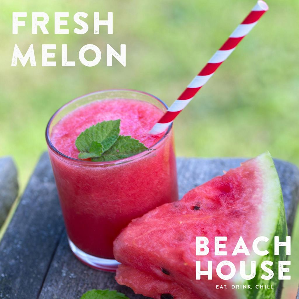 """Photo of CLOSED: Beach House Health Bar  by <a href=""""/members/profile/AleksandarSvetski"""">AleksandarSvetski</a> <br/>Fresh Melon Smoothie!!! Add Coconut Water for the Perfect Summer Thirst Quencher <br/> December 16, 2014  - <a href='/contact/abuse/image/53855/88130'>Report</a>"""