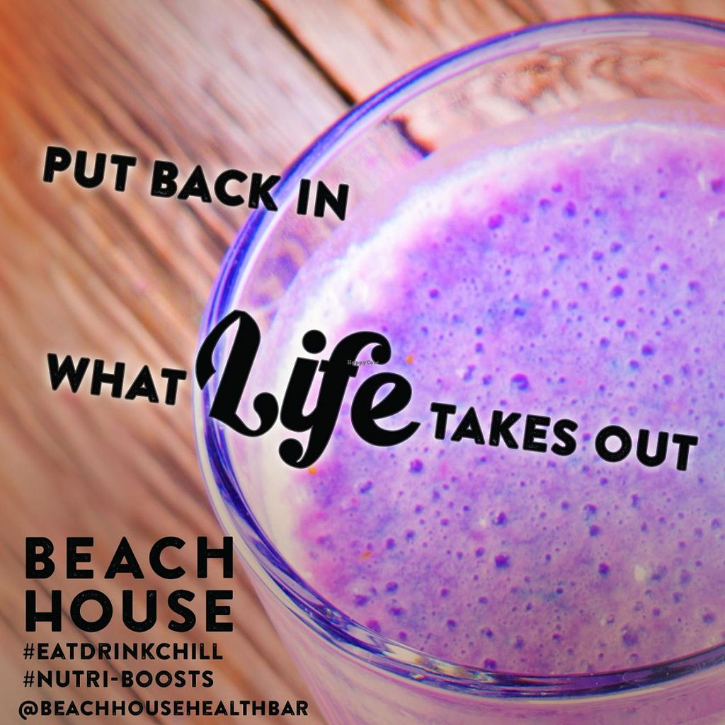 """Photo of CLOSED: Beach House Health Bar  by <a href=""""/members/profile/AleksandarSvetski"""">AleksandarSvetski</a> <br/>Lean Berry Protein. Beach House Shakes - Packed full of Protein. Choose Whey or Vegan <br/> December 16, 2014  - <a href='/contact/abuse/image/53855/88133'>Report</a>"""