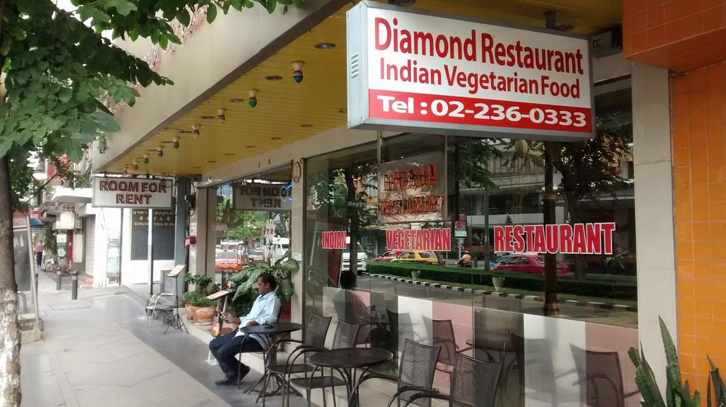 Photo of Diamond Restaurant  by zungi <br/>In front of the restaurant <br/> December 17, 2014  - <a href='/contact/abuse/image/53882/88190'>Report</a>