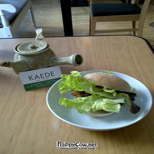 """Photo of CLOSED: Kaede  by <a href=""""/members/profile/SandyChung"""">SandyChung</a> <br/>The little burger is so delicious! I'm really satisfied with the taste <br/> October 23, 2011  - <a href='/contact/abuse/image/5388/11469'>Report</a>"""