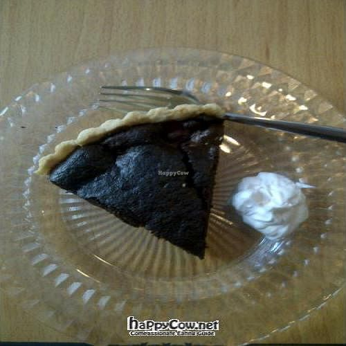 """Photo of CLOSED: Kaede  by <a href=""""/members/profile/SandyChung"""">SandyChung</a> <br/>Since I became vegan, it's the first time I ate such nice chocolate pie with soy cream. YUMMY! <br/> October 23, 2011  - <a href='/contact/abuse/image/5388/11471'>Report</a>"""