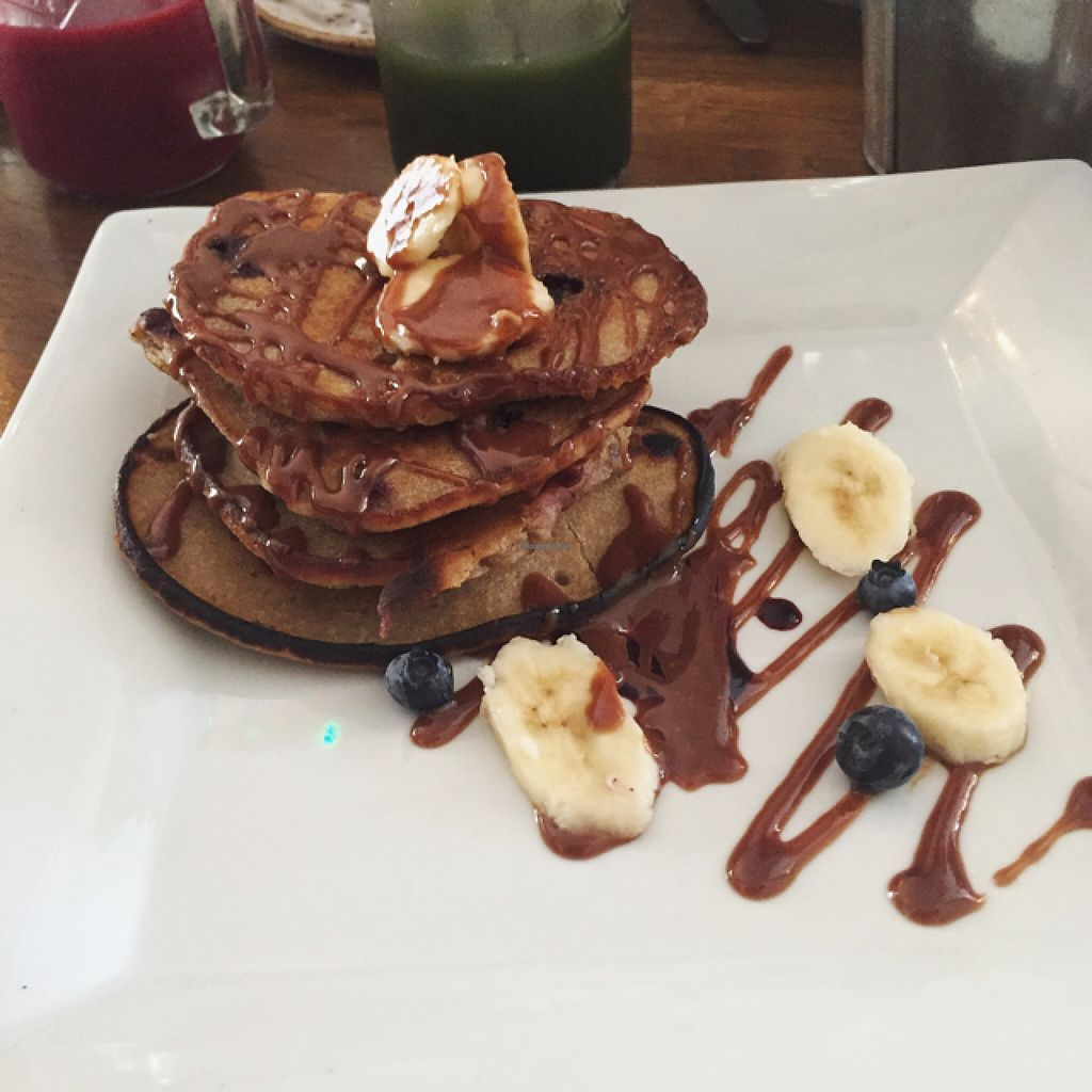 """Photo of The Garden  by <a href=""""/members/profile/IzzyMarianneBros"""">IzzyMarianneBros</a> <br/>happy vegan pancakes  <br/> August 10, 2015  - <a href='/contact/abuse/image/53896/113004'>Report</a>"""