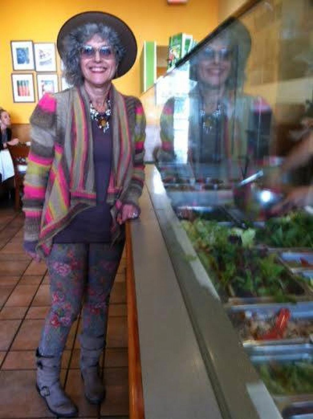 """Photo of Salad Farm  by <a href=""""/members/profile/Louise%20Green"""">Louise Green</a> <br/>One happy vegan <br/> December 18, 2014  - <a href='/contact/abuse/image/53907/88222'>Report</a>"""