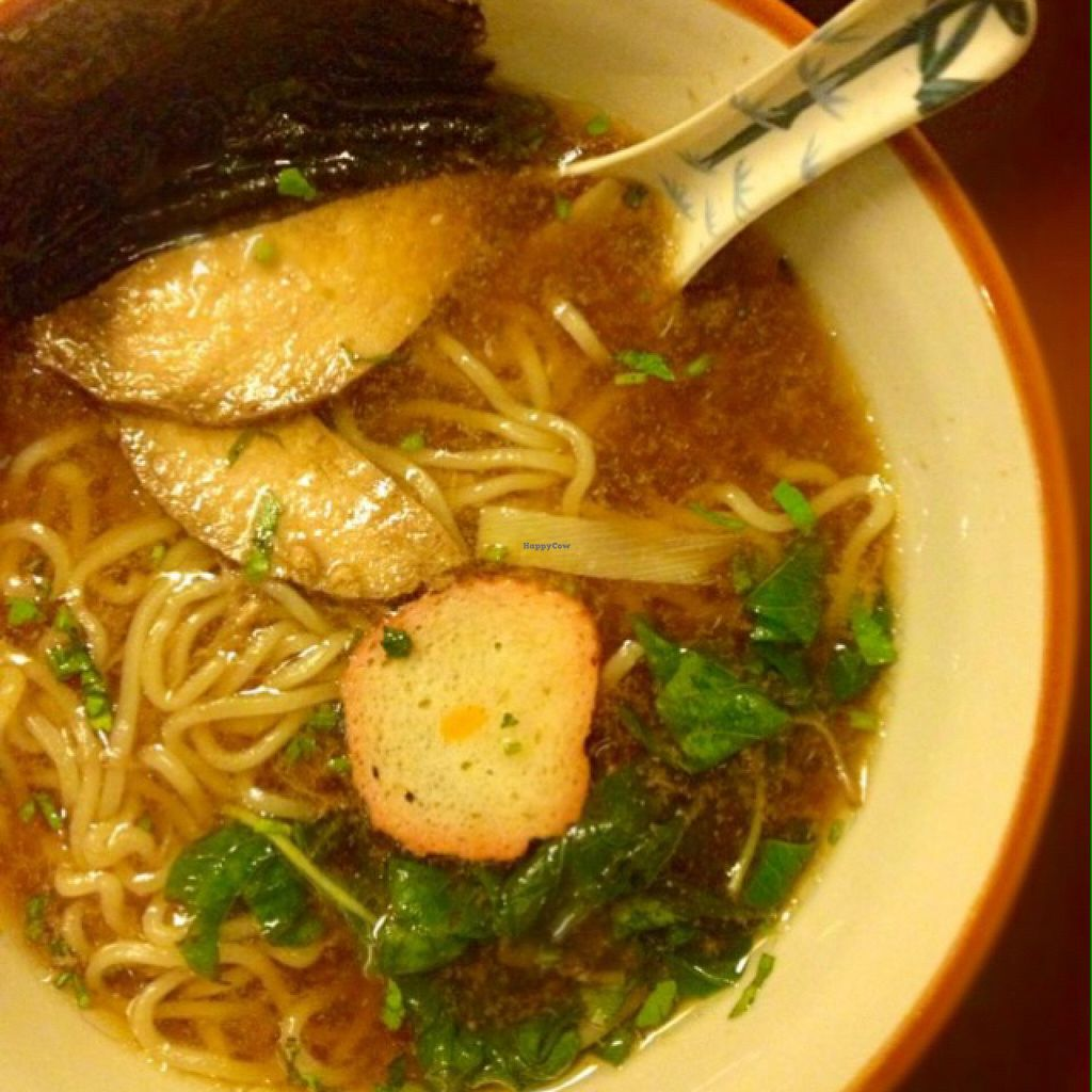 """Photo of Wabi-Sabi Noodle House and Vegetarian Grocery - Tomas Morato  by <a href=""""/members/profile/Teruru"""">Teruru</a> <br/>Shouyu Ramen <br/> August 12, 2015  - <a href='/contact/abuse/image/53914/113343'>Report</a>"""