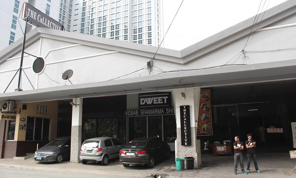 """Photo of Wabi-Sabi Noodle House and Vegetarian Grocery - Tomas Morato  by <a href=""""/members/profile/kezia"""">kezia</a> <br/>This is 'The Collective' the building Wabi-Sabi is housed in <br/> January 29, 2015  - <a href='/contact/abuse/image/53914/91676'>Report</a>"""
