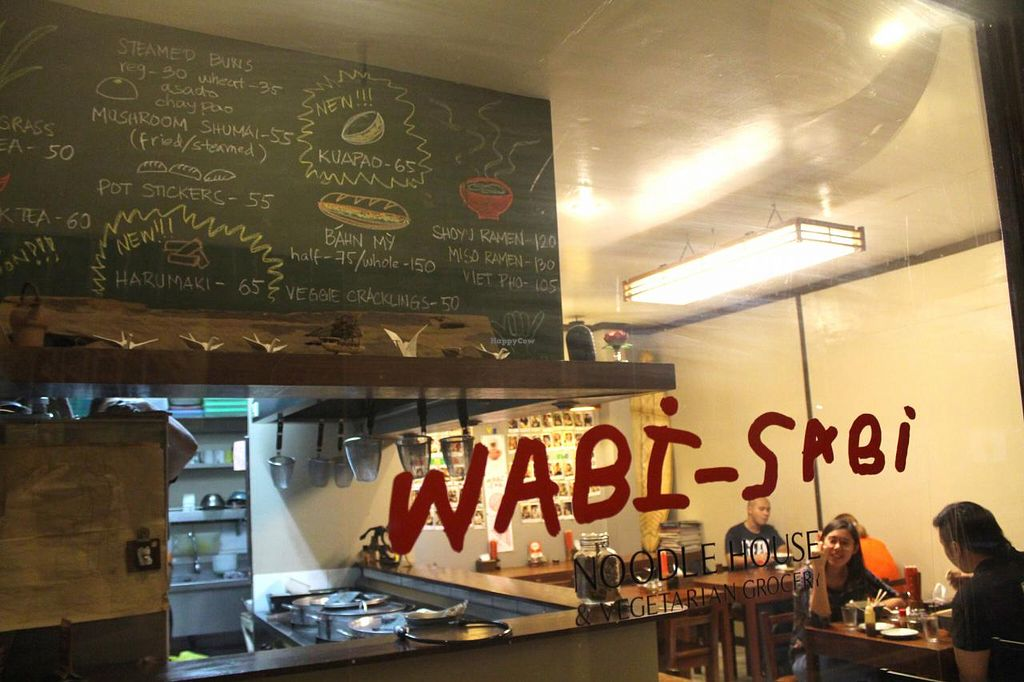 """Photo of Wabi-Sabi Noodle House and Vegetarian Grocery - Tomas Morato  by <a href=""""/members/profile/kezia"""">kezia</a> <br/>Wabi-Sabi <br/> January 29, 2015  - <a href='/contact/abuse/image/53914/91678'>Report</a>"""