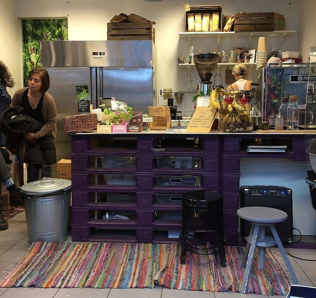 """Photo of Lotta Love  by <a href=""""/members/profile/LisaCupcake"""">LisaCupcake</a> <br/>Seating for about 10 people around the edges of the room, with this counter/prep area at the back of the room. Lots of people picked up takeaway orders <br/> January 5, 2017  - <a href='/contact/abuse/image/53915/244174'>Report</a>"""