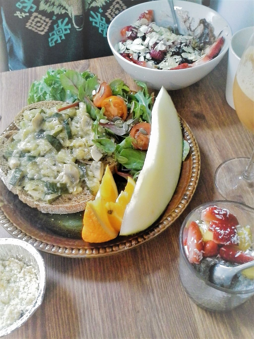 """Photo of Lotta Love  by <a href=""""/members/profile/vegankiwis"""">vegankiwis</a> <br/>Savoury menu and acai bowl <br/> June 30, 2017  - <a href='/contact/abuse/image/53915/275054'>Report</a>"""