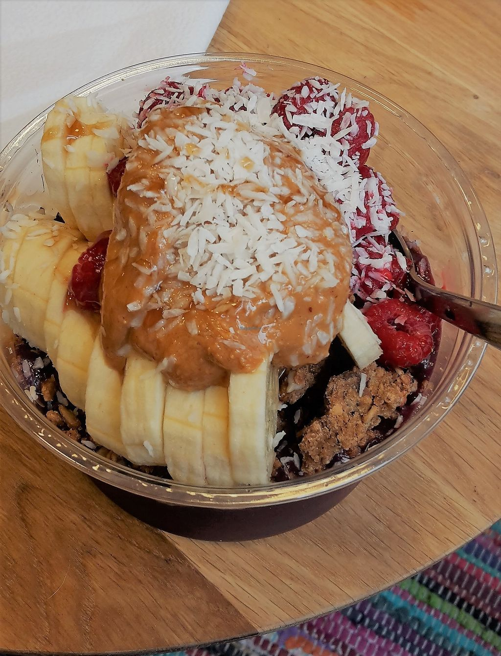 """Photo of Lotta Love  by <a href=""""/members/profile/vegankiwis"""">vegankiwis</a> <br/>Classic acai bowl - delicious! <br/> June 30, 2017  - <a href='/contact/abuse/image/53915/275055'>Report</a>"""