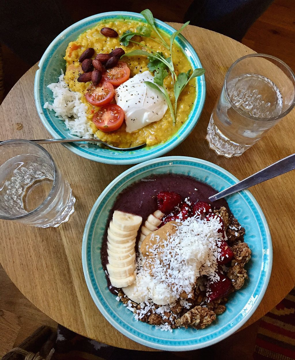 """Photo of Lotta Love  by <a href=""""/members/profile/agatonluna"""">agatonluna</a> <br/>The warm dish of the week and classic acai bowl <br/> February 24, 2018  - <a href='/contact/abuse/image/53915/363365'>Report</a>"""