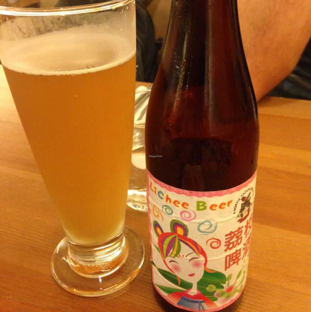"Photo of Ga Mi Shu Shi - Rice Revolution  by <a href=""/members/profile/ellen_munich"">ellen_munich</a> <br/>Lychee Beer <br/> October 20, 2015  - <a href='/contact/abuse/image/53918/121945'>Report</a>"