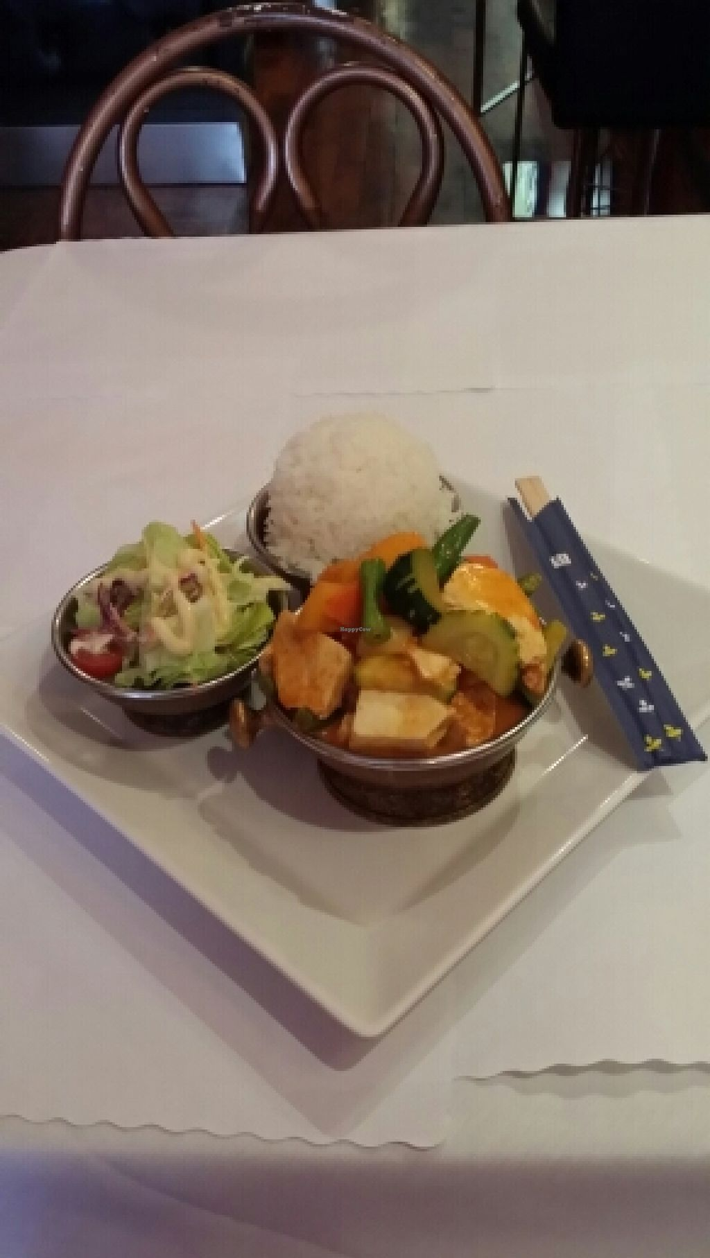 "Photo of Thai Time Asian Bistro  by <a href=""/members/profile/catbone"">catbone</a> <br/>Red Pumpkin Curry Lunch Special <br/> February 17, 2016  - <a href='/contact/abuse/image/53948/136745'>Report</a>"